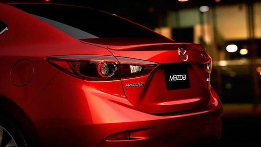 2014 Mazda3 sedan photo leaked?
