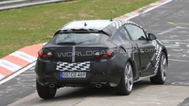 Opel Astra GTC spied on the Nurburgring Nordschleife for first time