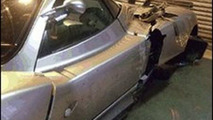 Crashed Pagani Zonda - 600 - 25.03.2010