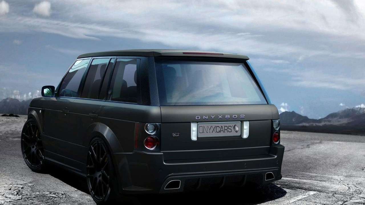 Onyx Concepts Range Rover Vogue Platinium V package teaser rendering