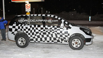 Tata Safari Prototype Spy Photo