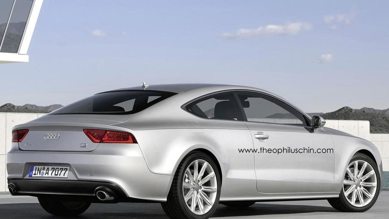 Rendered Speculation: Audi A7 Coupe | Motor1.com Photos