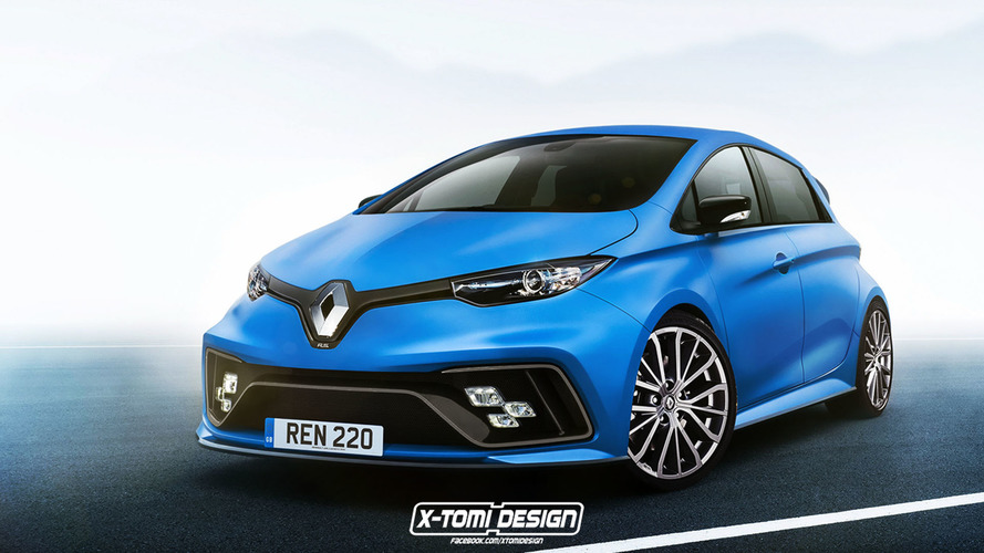 Could the first Renault Zoe RS hot hatch EV look like this?