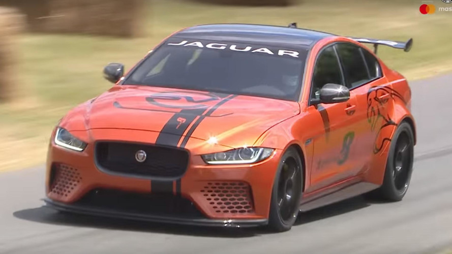 Jaguar's Most Powerful Production Car Ever Attacks Goodwood