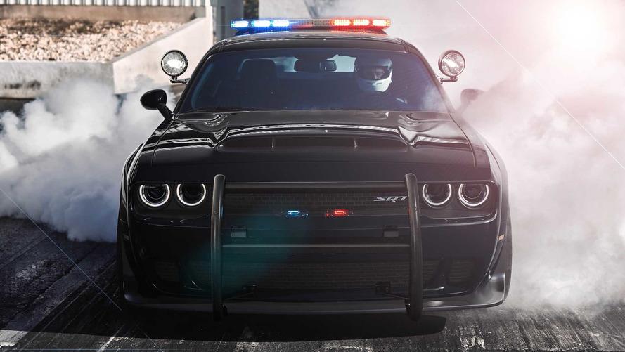 Dodge Demon Police Aracı Tasarım Yorumu