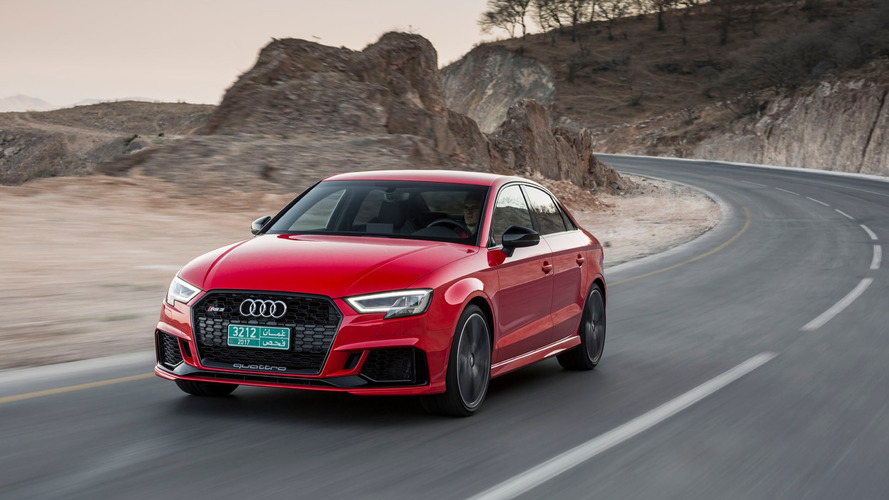 Audi RS3 Makes U.S. Debut in New York With $54,500 Base Price