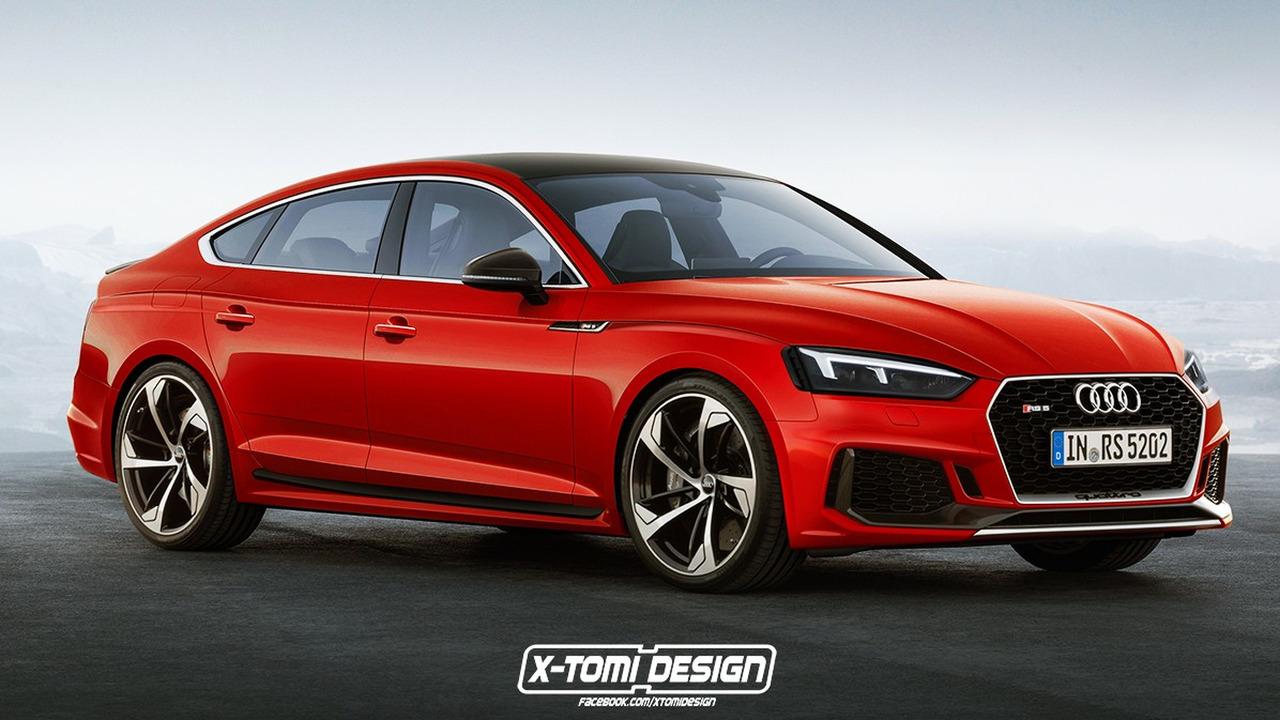 Audi RS5 Sportback render