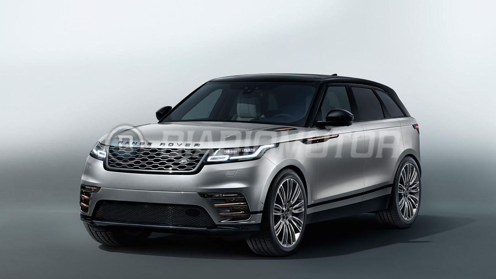 More Range Rover Velar Photos Leak Online