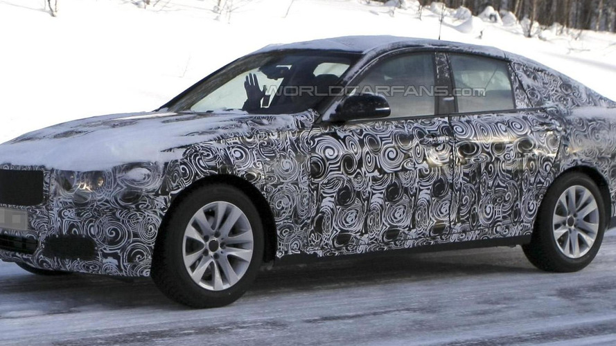 2013 BMW 3-series GT caught testing