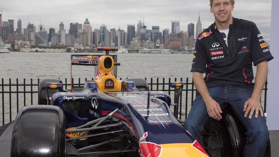 Vettel swears on Letterman [videos]