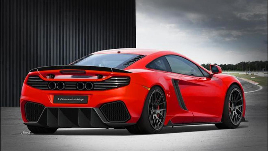 Hennessey previews HPE800 Twin Turbo kit for McLaren MP4-12C