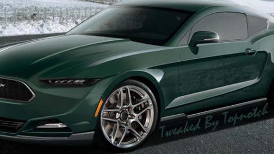 U.S. will also get the 2015 Ford Mustang with 2.3-liter EcoBoost