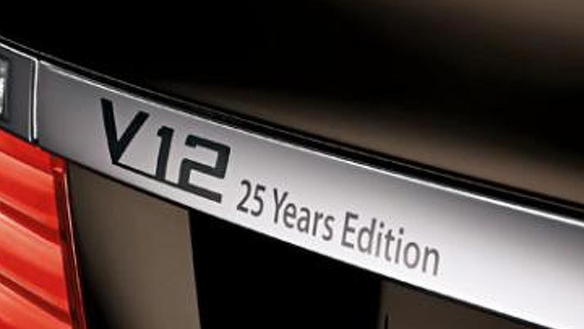 2013 Bmw 760li V 12 25 Years Anniversary Edition Announced Us