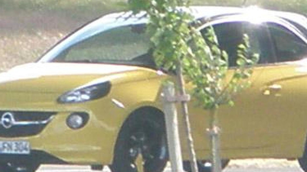 2013 Opel Adam spy photo 09.7.2012