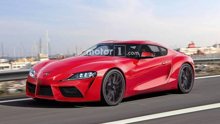 Toyota Supra böyle mi görünecek?