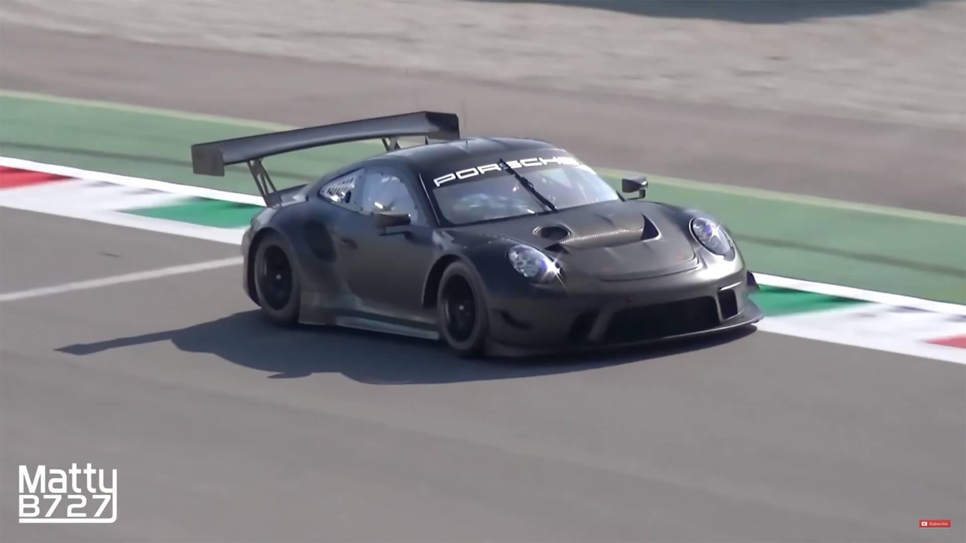 2019 Porsche 911 GT3 R Sounds Ferocious During Monza Test on car mercedes-benz cls-class, car porsche panamera, car ferrari 458,