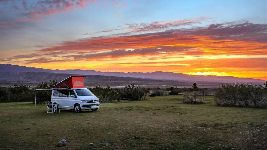 Camping In The Volkswagen T6 California You Can't Buy Here