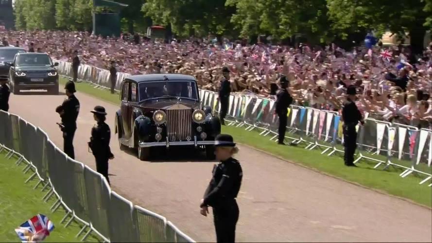Meghan Markle Uses 1950 Rolls-Royce Phantom IV At Royal Wedding