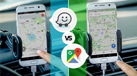 Google Maps contro Waze, la sfida nel traffico