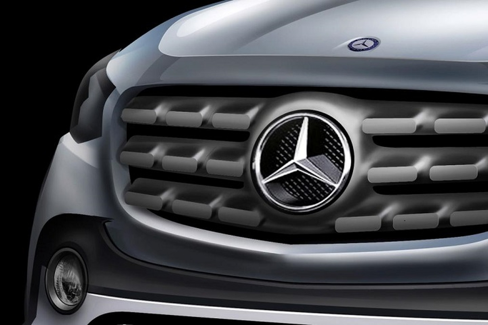 Mercedes-Benz Pickup Truck Rumored for Paris Motor Show Debut