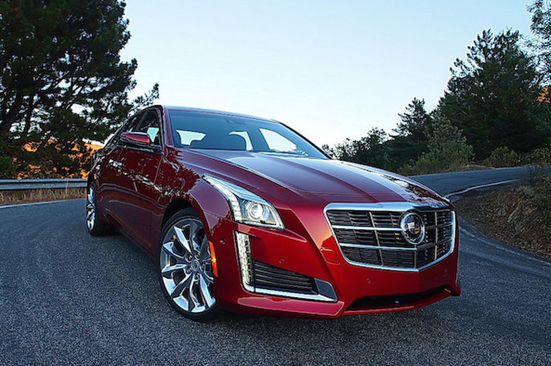 Home in a New Cadillac CTS from eBay Motors