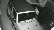 Jeep Wrangler Unlimted theft