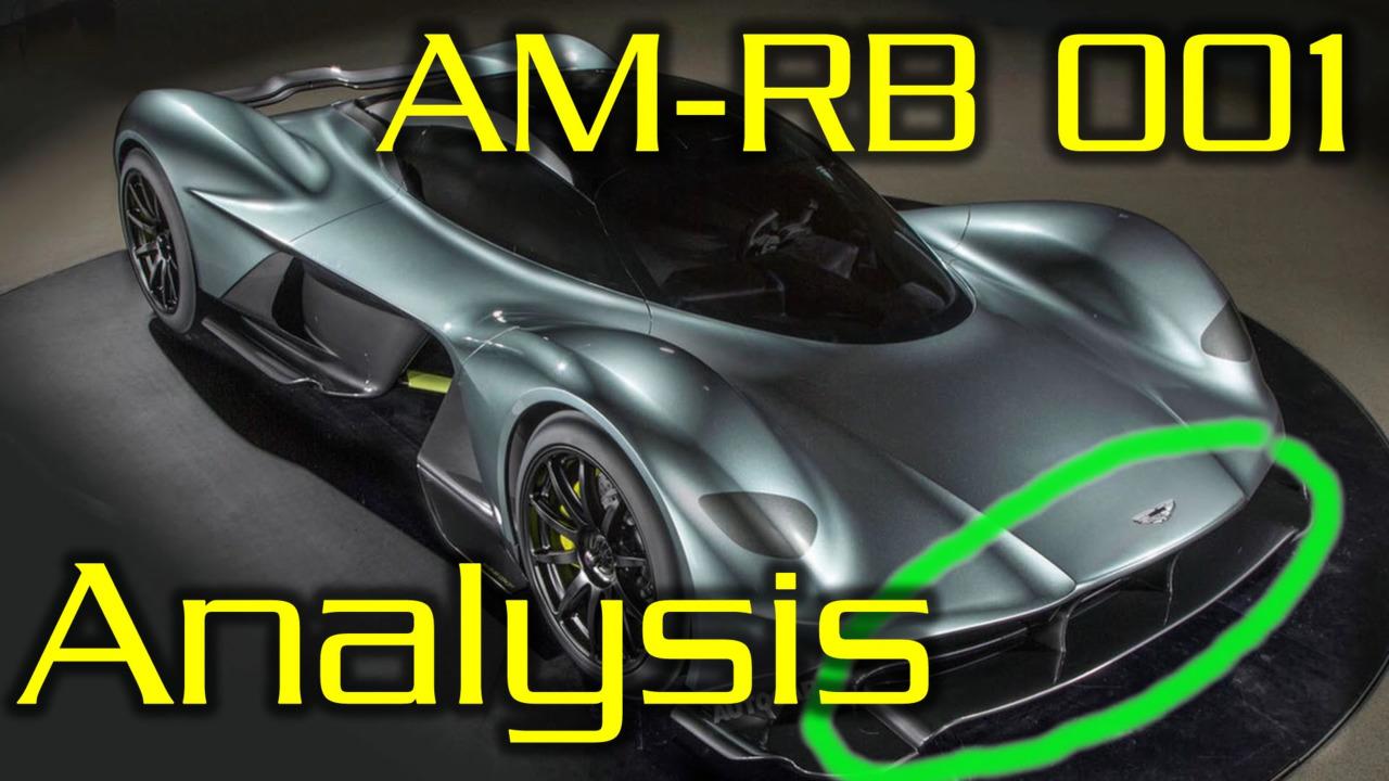 Aston Martin AM-RB001 aero explained