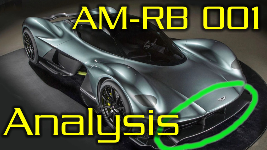 Aston Martin AM-RB001 aerodynamics explained