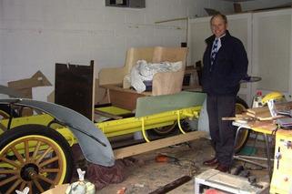 Rob Spyker Gives a Closer Look at his 1907 Spyker Restoration Project