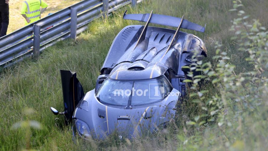 Koenigsegg blames front ABS sensor for One:1 Nurburgring crash