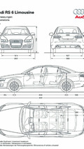 Audi RS6 Sedan Unleashed Ahead of Paris Debut