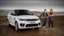 Land Rover Range Rover Sport P400e carrera acuática