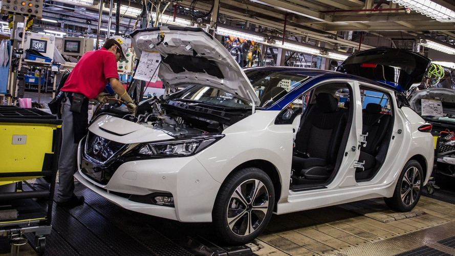 New Nissan Leaf Production To Begin In US, UK By Late 2017