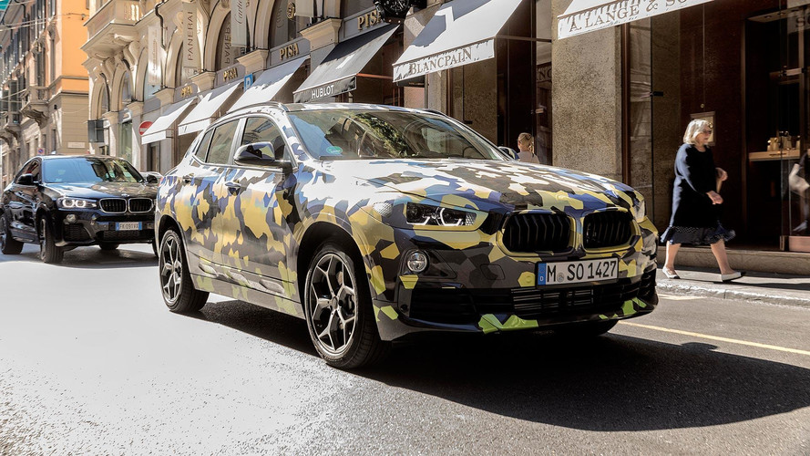 Olaszországban is megmutatta magát a hamarosan debütáló BMW X2