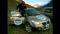 Fiat Sedici in quota con Angelo d'Arrigo