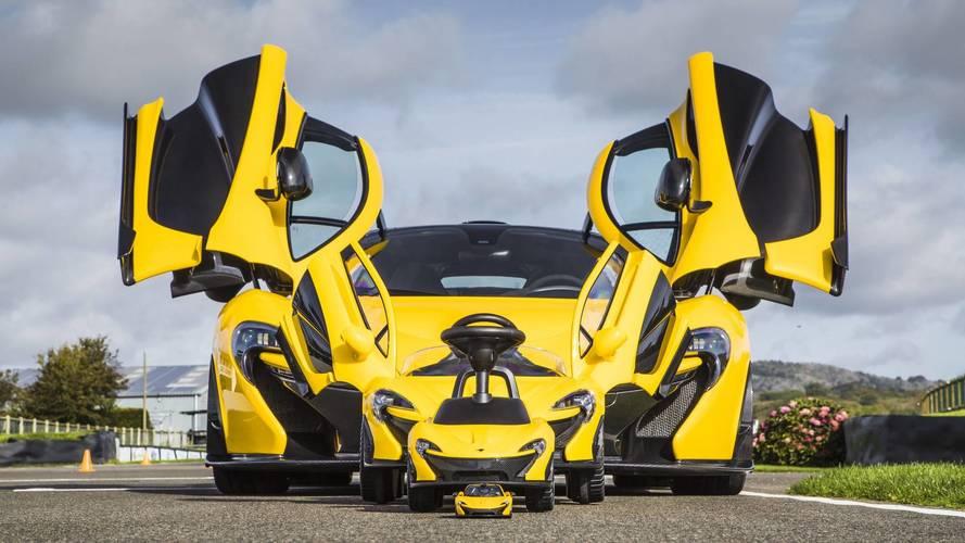 McLaren P1 toy cars