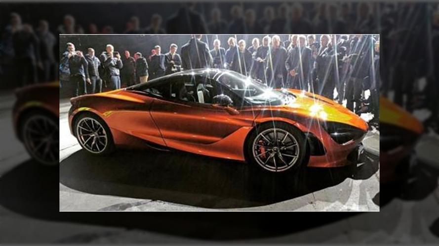McLaren P14'ün fotoğrafı sızdırıldı