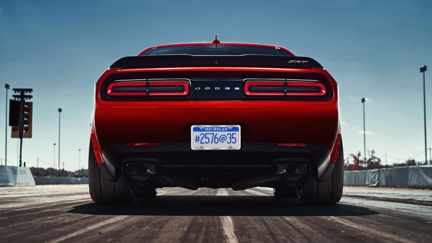 Dodge Challenger Demon geniş body kit ve drag lastiklerine sahip olacak