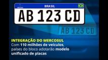 Brasil adia (mais uma vez) placas do Mercosul; Uruguai e Argentina já utilizam