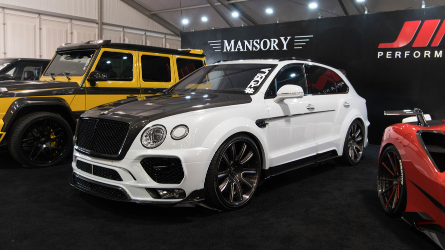 Mansory Bentley Bentayga isn't safe from SEMA modifications