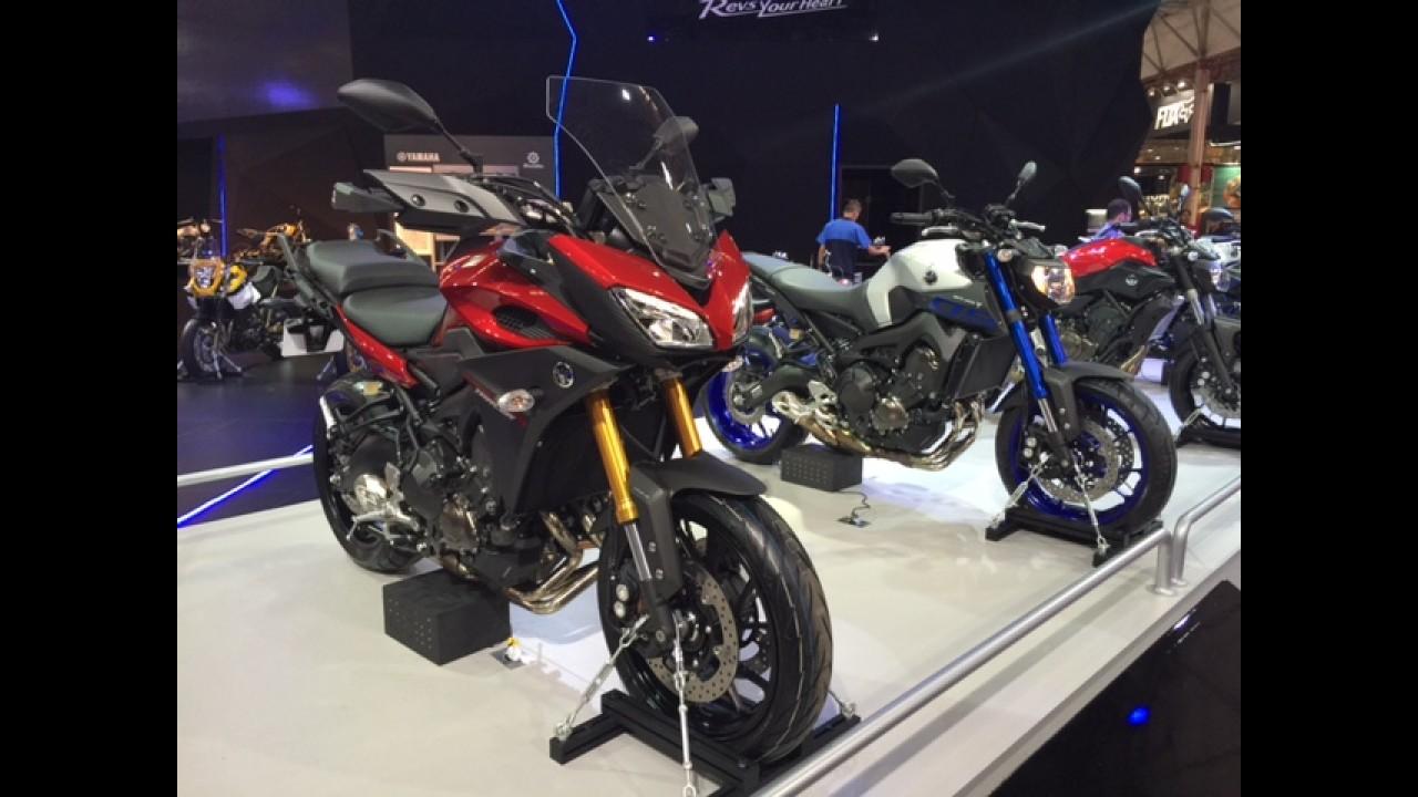 Salão Duas Rodas: família MT da Yamaha vai crescer com MT-03 e MT-09 Tracer