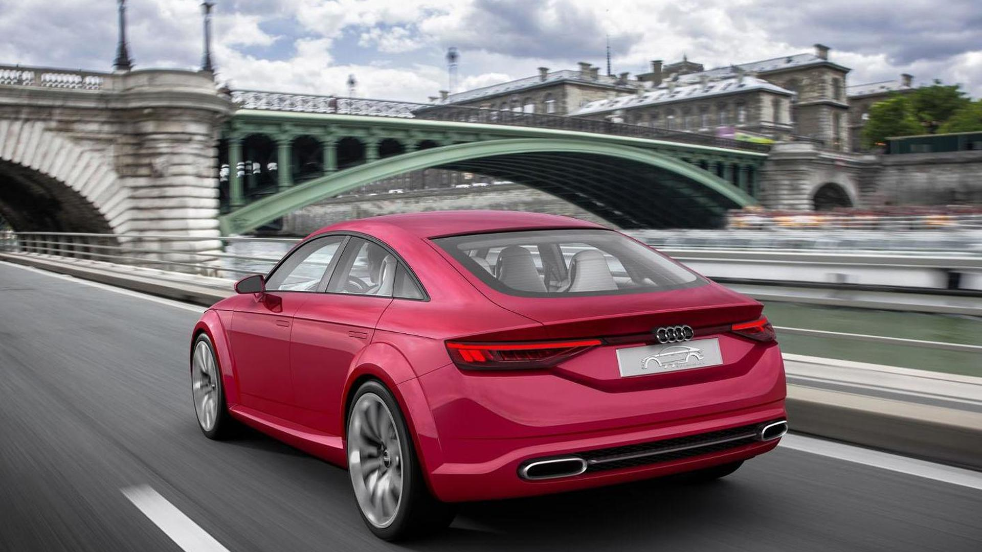 Четырёхдверное купе Audi TT Sportback