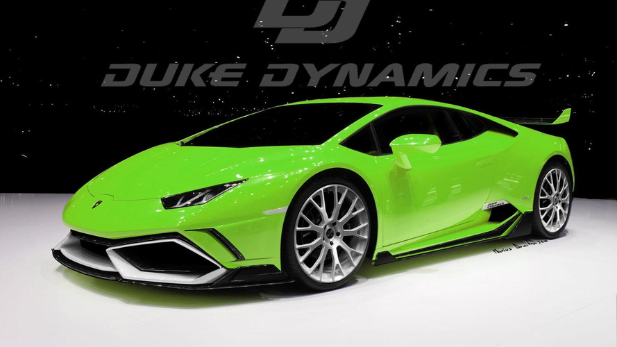 Duke Dynamics previews their Lamborghini Huracan Arrow
