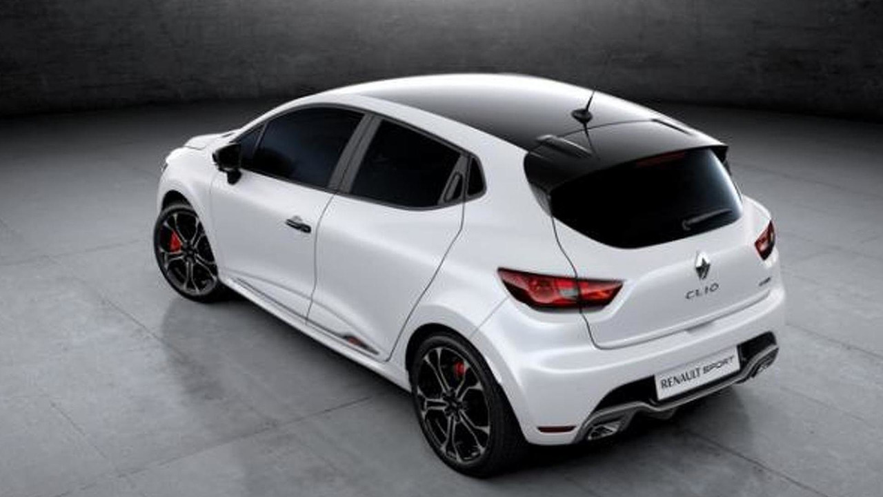 renault clio rs trophy leaked before geneva debut. Black Bedroom Furniture Sets. Home Design Ideas