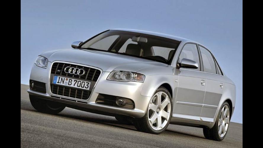 Audi S4 aufgefrischt: Das neue A4-Gesicht für V8-Sportler