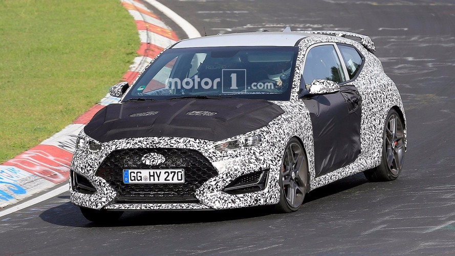 Next Hyundai Veloster Spied On 'Ring, Likely Sporty N Variant