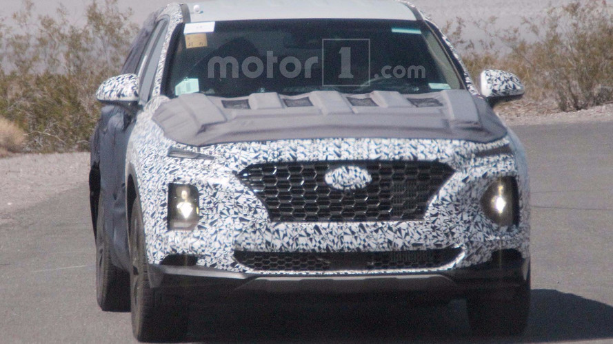 Next Hyundai Santa Fe Spied Revealing Kona-Like Face
