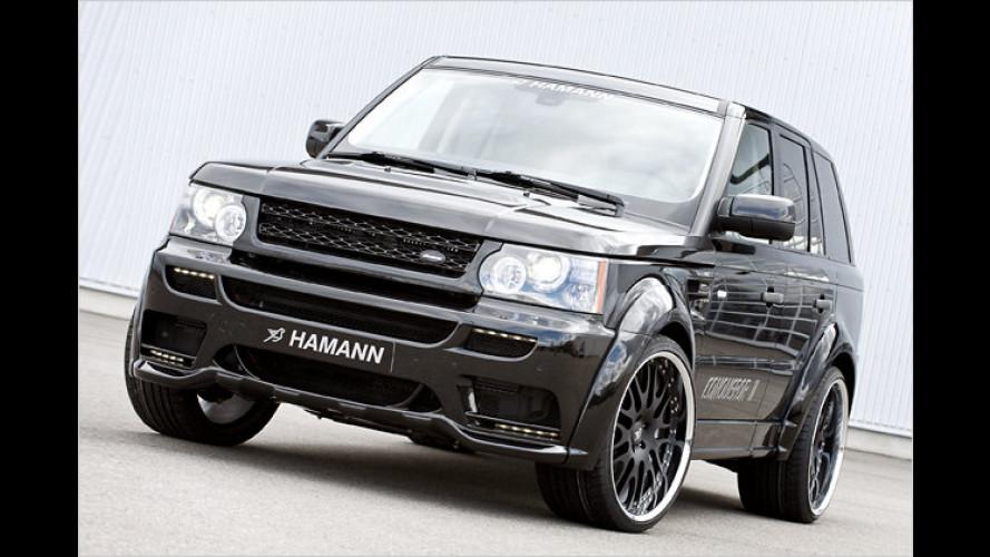 Sportlicher Eroberer: Hamann tunt den Range Rover Sport