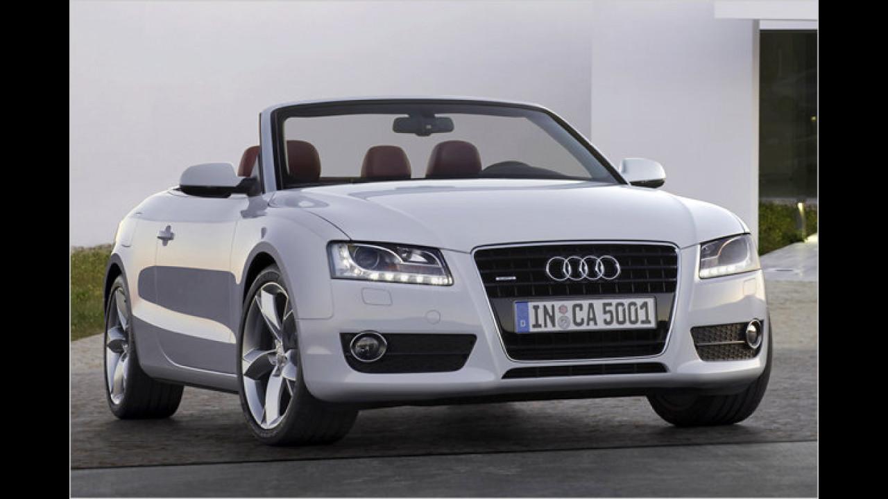 Sportwagen/Cabrios, 2. Platz: Audi A5 Cabrio