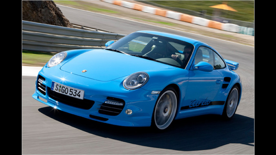 Friedliche Evolution: Porsche 911 Turbo